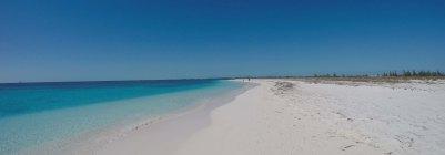 Feiner Sand am Strand von Cayo Largo. Foto: Oliver Heider