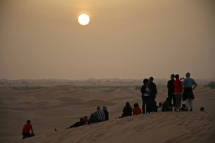 Wüste Al Khatim in Abu Dhabi. Foto: Oliver Heider