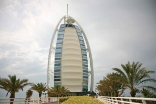 Burj Al-Arab in Dubai. Foto: Oliver Heider