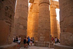 Tempel von Karnak in Luxor. Foto: Oliver Heider