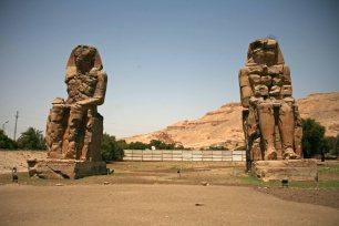 Die Kolosse von Memnon. Foto: Oliver Heider