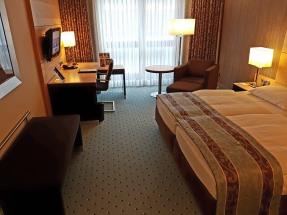 Zimmer im Hotel Maritim. Foto: Oliver Heider