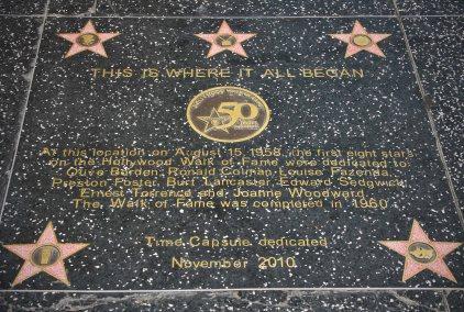 Walk of Fame in Hollywood. Foto: Oliver Heider