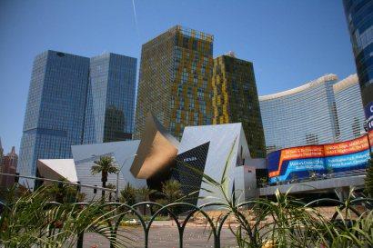 Hotel auf dem Strip in Las Vegas. Foto: Oliver Heider