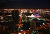 Der Strip vom Stratosphere-Tower aus gesehen. Foto: Oliver Heider