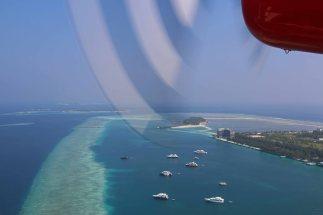 Start in Malé. Foto: Oliver Heider