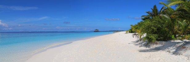 Strand im Norden von Meedhupparu. Foto: Oliver Heider