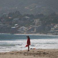 Rettungsschwimmer am Strand von Malibu. Foto: Oliver Heider