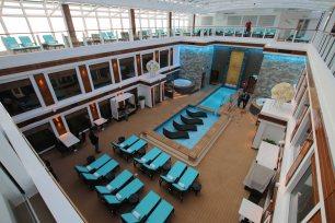Relax-Bereich für Haven-Gästen. Foto: Oliver Heider