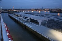 Cruiseterminal Steinwerder. Foto: Oliver Heider