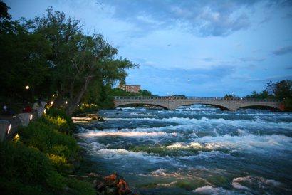 Niagara-Fälle von US-Seite aus gesehen. Foto: Oliver Heider
