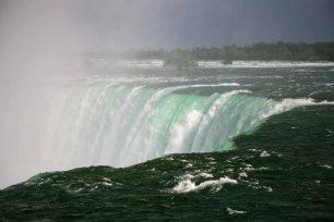Niagara-Fälle von kanadischer Seite. Foto: Oliver Heider