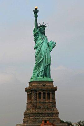 Freiheitsstatue auf Liberty Island. Foto: Oliver Heider