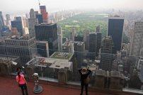 """Ausblick von """"Top of the Rock"""" auf den Central Park. Foto: Oliver Heider"""