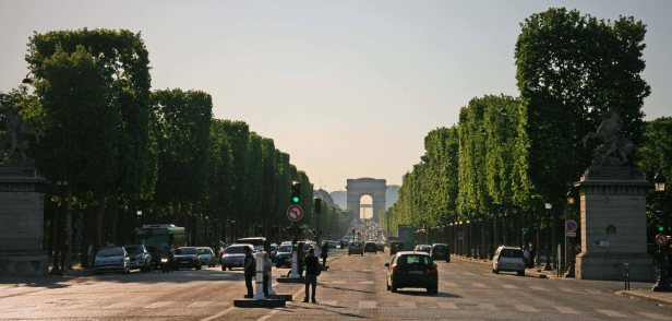 Avenue de Champs-Élysées. Foto: Oliver Heider
