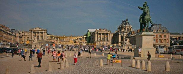 Schloss Versailles außerhalb von Paris. Foto: Oliver Heider