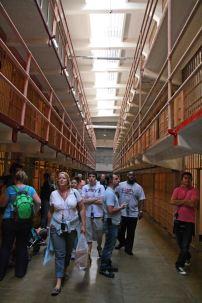 Zellentrakt auf Alcatraz. Foto: Oliver Heider