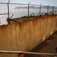 Gefängnis auf Alcatraz. Foto: Oliver Heider