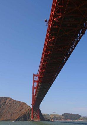 Golden Gate Bridge. Foto: Oliver Heider
