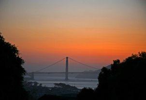 Golden Gate Bridge am Abend. Foto: Oliver Heider