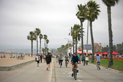 Promenade am Venice Beach. Foto: Oliver Heider