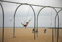 Sport am Venice Beach. Foto: Oliver Heider