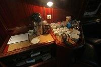 Kaffee- und Tee-Station. Foto: Oliver Heider