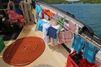 Wäsche trocknen. Foto: Oliver Heider