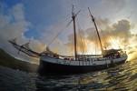 """Sea Pearl"" am Abend. Foto: Oliver Heider"
