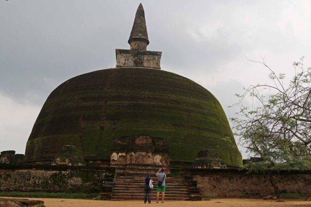 Dagoba in Polonnaruwa. Foto: Oliver Heider