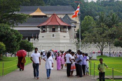 Zahntempel in Kandy. Foto: Oliver Heider