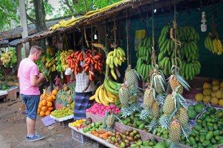 Früchteverkauf im Inselinneren. Foto: Oliver Heider