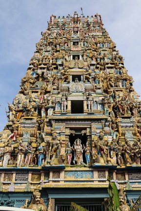 Hinuistischer Tempel in Colombo. Foto: Oliver Heider