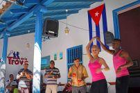 Tanz-Show in einem Hinterhof in Trinidad. Foto: Oliver Heider