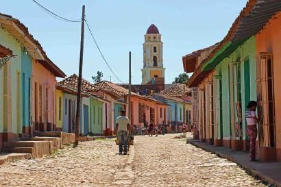 Die Stadt Trinidad auf Kuba ist kunterbunt. Foto: Oliver Heider