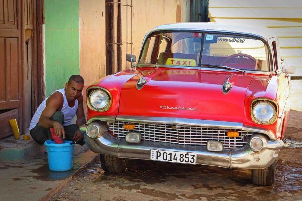Oldtimer haben Hochkonjunktur in Kuba. Foto: Oliver Heider