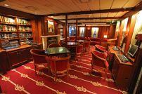 Die Bibliothek der Star Flyer. Foto: Oliver Heider