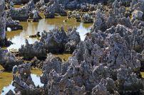 Spitze Gesteinsformationen in Hell. Foto: Oliver Heider