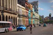 Straßenzug in Havanna. Foto: Oliver Heider