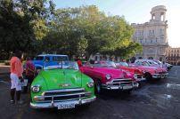Oldtimer in Havanna. Foto: Oliver Heider