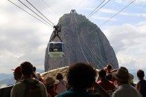 Seilbahn Zuckerhut Rio de Janeiro Brasilien