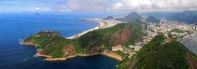 Ausblick Zuckerhut Rio de Janeiro Brasilien