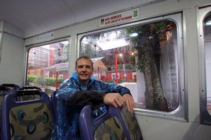 Zahnradbahn Christusstatue Rio de Janeiro Brasilien