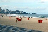 Ipanema Strand in Rio de Janeiro Brasilien