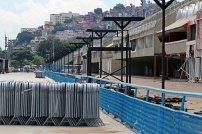 Sambódromo in Rio de Janeiro Brasilien