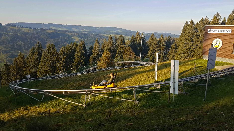 Alpsee Bergwelt Alpsee Coaster Ganzjahres-Rodelbahn