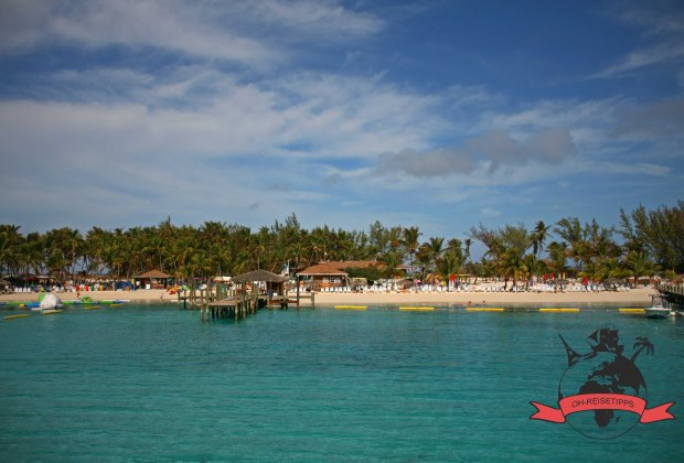 Blue Lagoon Island Nassau Bahamas Strand
