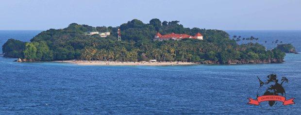 Cayo Levantado Samaná Dominikanische Republik Strand
