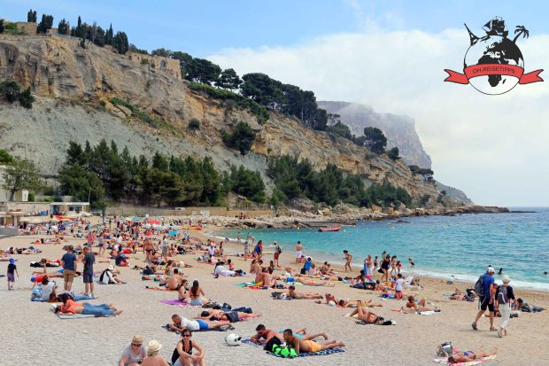 Cassis Südfrankreich Frankreich Strand