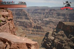 Skywalk Erlebnispark Grand Canyon West USA